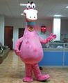 pelliccia mascotte costume mostro