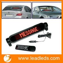 New product led matrix of 12 volts led car window display
