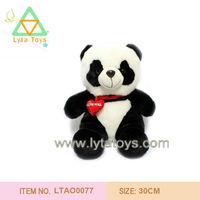 Soft Stuffed Toys Panda with tie