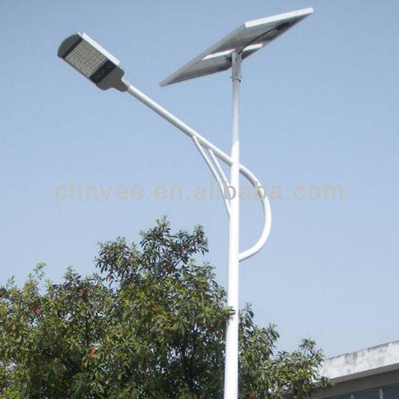 Hdg Q235 pólo de poste lâmpada de aço suporte pós coluna
