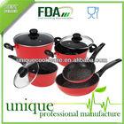 Empress Stoneline Stone-Coated Saucepan + Roasting +Frypan Cookware Set