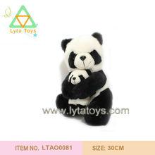Soft Stuffed Toys Panda Family