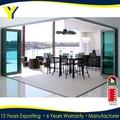 alumínio moderna porta de entrada de vidro duplo de alumínio portas e janelas com as2047 as2208 as1288