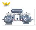 En acier inoxydable 2+1 complet- automatique de circulation d'eau chaude d'immersion machine stérilisateur à l'alimentation