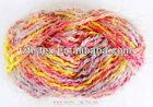 H-119 acrylic & nylon blended fancy feather yarn