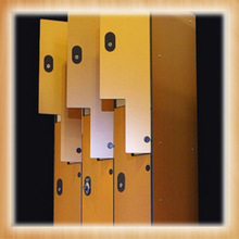 High Compact laminate Z lockers/hpl lockers for sale
