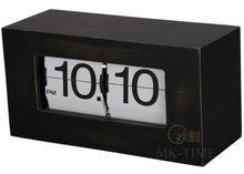 Antique Wooden box Flip Clock from Guangzhou Huanyu clocking factory