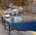 gravity free roller conveyor assembly line