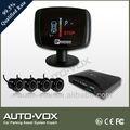 Vfd display sensor de estacionamento para nissan com alerta de voz com 4 sensores