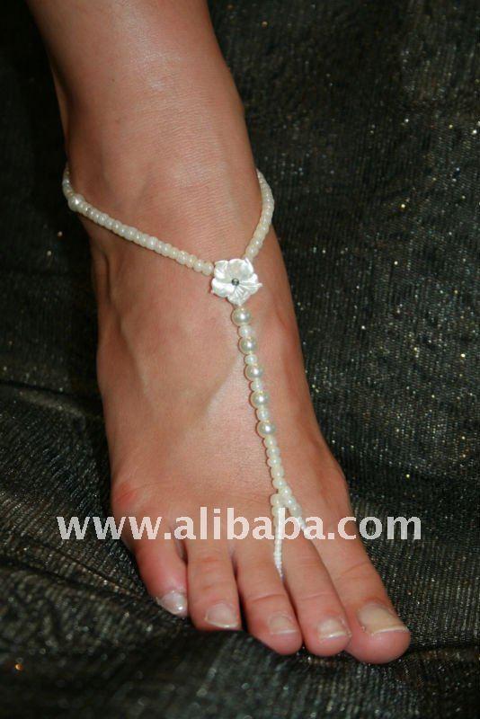 sandalias descalzo