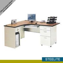 Executive L shape desk for office/t shaped office desk/l shaped desk cheap