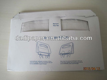 14g Eco-friendly disposable toilet seat cover paper