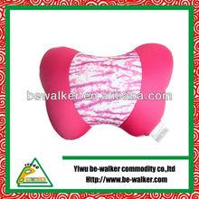 New Style 100% Polyester Good Health Cute Born Shape Car Neck Pillow