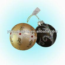 2013 popular hanging christmas glass ball