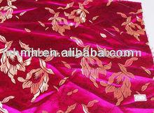 Polyester fils teints jacquard tissu rideau