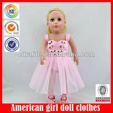 18 inch Cute realistic american doll dress