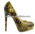 prezzo basso sexy nude scarpe da sera donna 16 centimetri scarpe tacchi alti