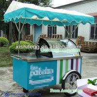 ice cream cart distributors/ice cream shop equipment