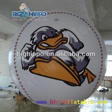 inflatable helium balloon/round helium balloon