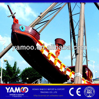 Professional Amusement Rides Manufacture Swing Boat/Pirate Ship/Galleon Rides for Sale