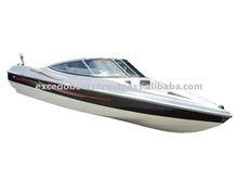 Bowrider motor boat