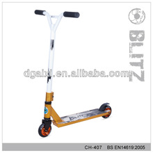 PROFESSIONAL YELLOW FIXED STUNT TRICK SCOOTER Trike stunt scooter for sale
