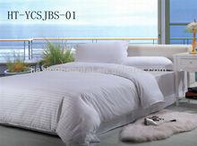 home textile,bedding set,hotel,100% Cotton Satin Stripe Bed Sheets SetHT-YCSJBS-01