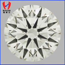 Synthetic White Round Cut Cubic Zirconia Gemstones