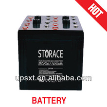 solar battery 2v 2000ah for wind energy system(SR2000-2)