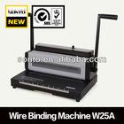 (W25A)Spiral wire o binding machine