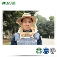 cotton bee protective hat with veil