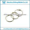 níquel plateado encuadernador anillos