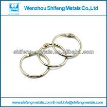 nickel plated book binder rings