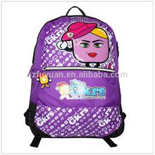 custom printed children cheap school backpack