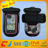 2014 new design pvc waterproof digital camera case for blackberry with armband
