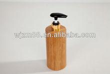 creative bamboo shampoo bottle