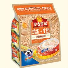 Nutritious Oatmeal with Egg & Milk