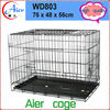 Decorative dog houses wire with wheel dog pet cage