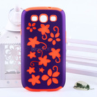 brand new design made in china customize rubberied pc hybrid case for samsung s3 tpu cases