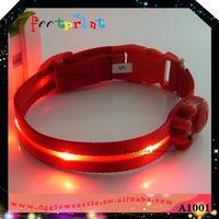 LED pet apparel&accessories exclusive pet circle pet accessories