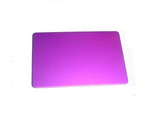 linda teslas goodman en púrpura energía positiva la placa pequeña