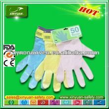 Food contact PO glove plastic glove
