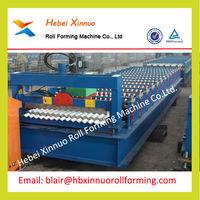 corrugated sheet metal roof making machine