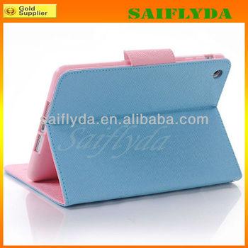 High Quality Korean Style Book Flip Case for iPad Mini flip case