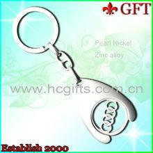 Best-selling!!Customized Metal Engraved logo metal Key chain