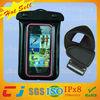 Wholesale custom 100% pvc mobile phone waterproof case for iphone 5