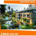 immaginario da costruzione 3d architettura prospettiva