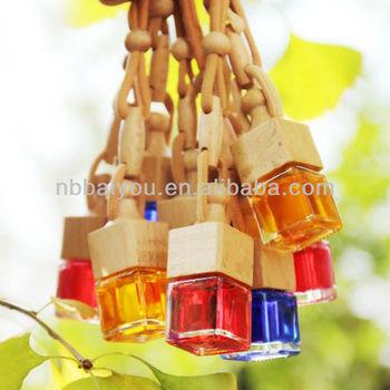 2014 hot sell 5ml hanging liquid car fragrance