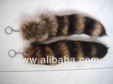 Raccoon Tails/ Raccoon Tails Keychain