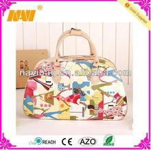 New cute tote PU travel bag(NV-TB082)